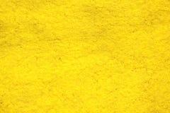 Żółty rzemiosła papieru tło Obrazy Royalty Free