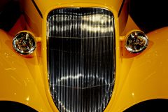 Żółty samochód Obrazy Stock