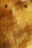 Żółty szkotowy metal zdjęcie stock
