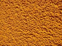 Żółty tekstury ściany tynk zdjęcia royalty free