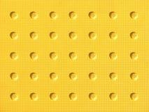 żółty wzór oczek Fotografia Royalty Free