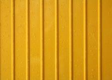 Żółty z tworzywa sztucznego Fotografia Royalty Free