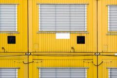 Żółty zbiornik obrazy stock