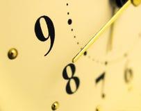 Żółty zegara Zdjęcie Royalty Free