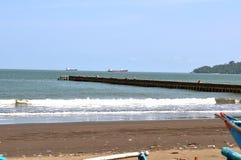Żółw zatoka jest na południowym wybrzeżu obrazy stock