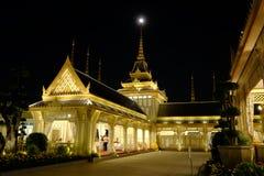 Żałobny miejsce Rama9 królewiątko Tajlandia obrazy royalty free