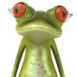 żab szkła Obrazy Royalty Free