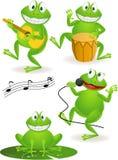 żaba śmieszna Obrazy Stock