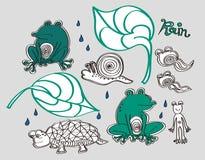 żaba ilustracja wektor