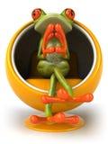 żaba royalty ilustracja