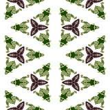 żaba batikowy wzór Obraz Royalty Free