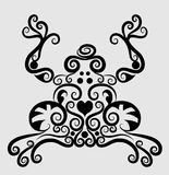 żaba dekoracyjny ornament Fotografia Stock