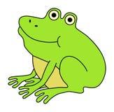 żaba szczęśliwa Zdjęcia Stock