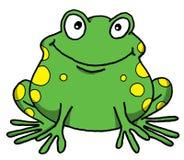żaba szczęśliwa Fotografia Royalty Free