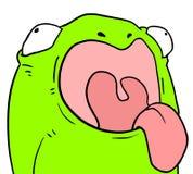 żaba szczęśliwa Fotografia Stock