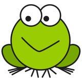 Żaba w kreskówka stylu royalty ilustracja