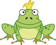 żaby królewiątko Ilustracja Wektor