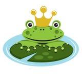 żaby książe Obrazy Stock