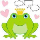 żaby książe Fotografia Royalty Free
