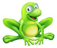 Żaby maskotka ilustracja wektor