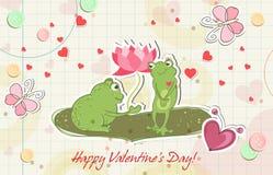 żaby miłość Zdjęcia Royalty Free