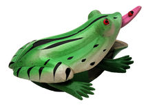 żaby różowego oka czerwony język zabawka Obrazy Royalty Free