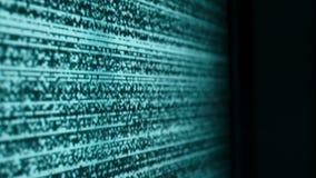 Żadny sygnału tv piksli abstrakcjonistyczny chaos zdjęcie wideo