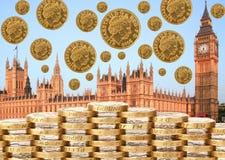 Żadny transakcja z UE Brexit obraz royalty free