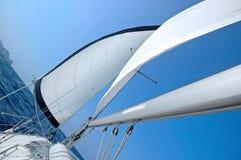 Żagiel łódź obraz royalty free
