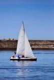 żagiel łodzi Zdjęcia Royalty Free