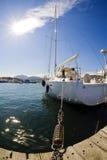 żagiel łodzi obrazy royalty free
