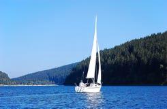 żagiel łodzi Obrazy Stock