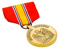 Żakiet ręki na medalu Obrazy Royalty Free