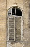 żaluzi stary okno Obrazy Royalty Free