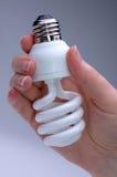 żarówkę oszczędzający energię Zdjęcie Stock