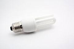 żarówka energooszczędna obraz stock