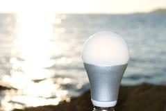 żarówka prowadzący światło zdjęcia stock