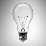 żarówki światła biel Zdjęcia Royalty Free