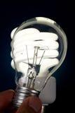 żarówki światło ścisły fluorescencyjny Fotografia Royalty Free