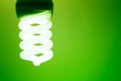 żarówki światło ścisły fluorescencyjny Zdjęcia Royalty Free