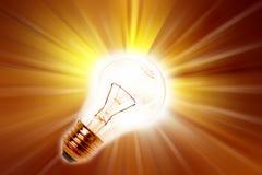 żarówki światło ilustracji