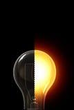 żarówki światło Zdjęcie Royalty Free
