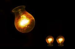 żarówki świecić Obrazy Stock