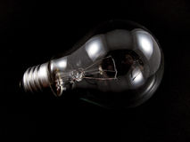 żarówki elektryczne światło Obraz Stock
