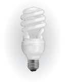 żarówki energii światła oszczędzanie Obraz Stock