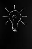 żarówki innowaci światło Zdjęcia Royalty Free