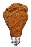 żarówki kurczaka noga Zdjęcia Stock