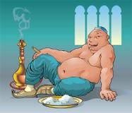 żarłok royalty ilustracja