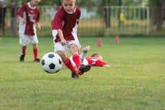 żartuje piłkę nożną Zdjęcia Stock