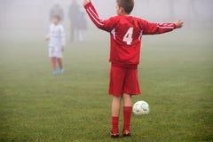 żartuje piłkę nożną Zdjęcia Royalty Free